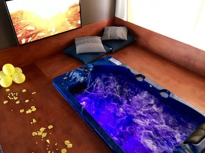 Photo for Relax Suite with Minipool and in-room sauna and fitness area and swimming pool.
