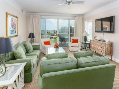 Photo for Oceanfront and Spacious! This Condominium is Steps from the Water and Great for Group.