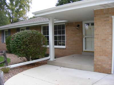 Photo for 3 bedroom updated ranch in great Pewaukee school district on a private lot