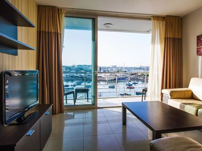 Photo for Apartment 2 BDR Sea View Blubay in Sliema-Gzira - 4 persons, 2 bedrooms