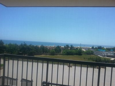 Watch the beautiful ocean from our condo
