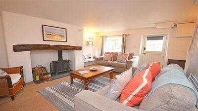 Photo for Charming Family Cottage, in quiet, peaceful rural location, close to Salcombe