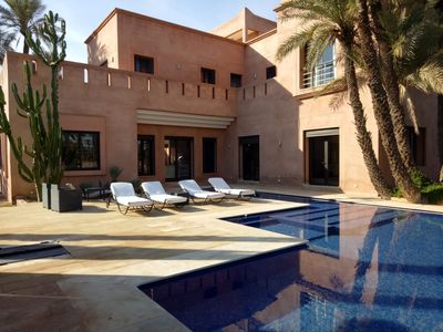 Photo for Palmeraie Home. Quiet area 10 mins from Medina