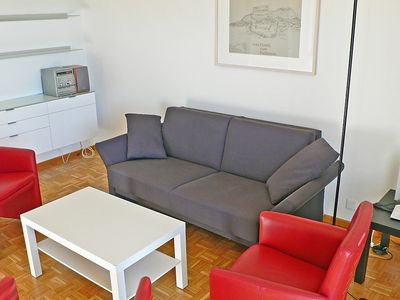 Photo for Apartment 1.4 km from the center of Lugano with Parking, Washing machine, Pool, Balcony (48343)