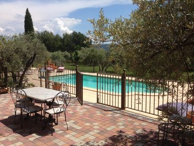 Photo for 180m2 house with swimming pool on 3500 m2 in an olive grove