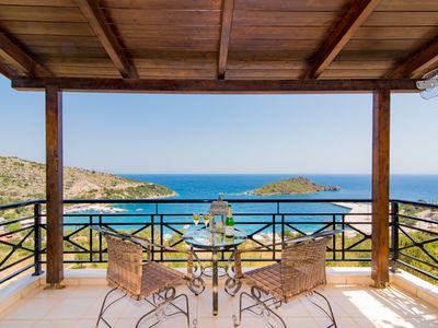 Photo for Komis Seafront Premium Villa - Zante Infinity Blue