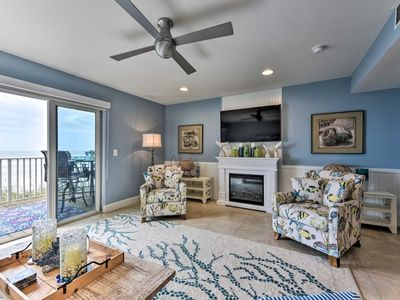Photo for Oceanfront Townhome - Walk to Jacksonville Beach!