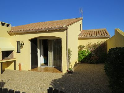 Photo for Pleasant house in a quiet residence - terrace - private parking - 4CAP56