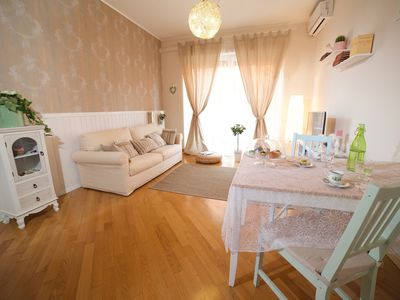 Photo for VaticanSunshine is a bright, cozy apartment just a stone's throw from S. Peter