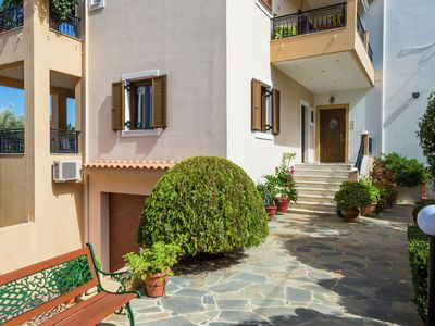 Photo for New small (3) apartmentcomplex in village of Prinès near Rethymnon, NW coast