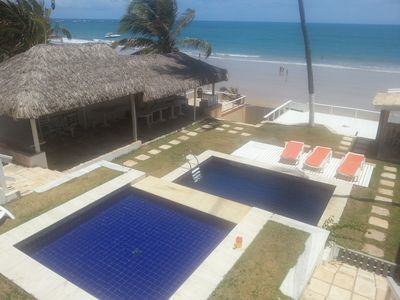 Photo for For rent cottage, in a gated community on the Beach Cove in Buzios, Beira Mar.