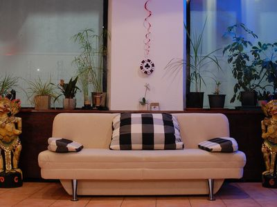 Photo for City loft with pizza oven & poker tables near the old town and city center