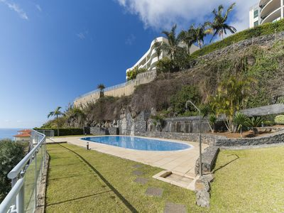 Photo for Calheta I, sun and dip in the pool every day.