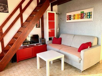 Photo for CHARMING T2 QUARTIER QUARTIER WITH SWIMMING POOL AND PARKING - CAP D'AGDE - ref EST 019J