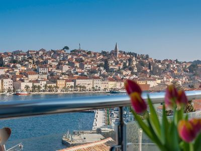 Photo for Montevideo Swee'Pea apartment in Mali Losinj with WiFi, air conditioning & balcony.