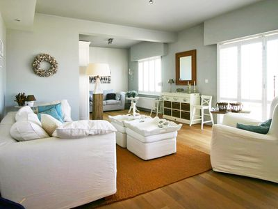Photo for Stylish, comfortable apartment directly at the beach