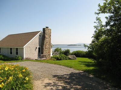 """Photo for """"Sea Meadow"""" Oceanfront Cottage: Lighthouse Views and Private Beach"""
