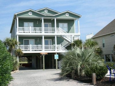 Photo for Coastal Living: 6 BR / 4 BA home in Oak Island, Sleeps 16