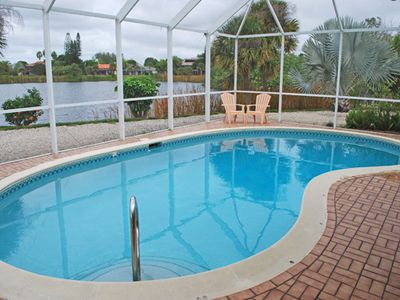 Photo for Lakeview Home. Ground level, Lake Front Home in Lake Murex with Private Pool