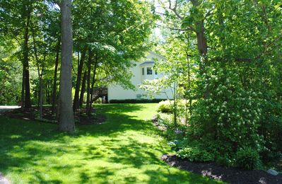 Photo for Saugatuck Condo, Wooded Ravine, Cathedral Ceilings, Open Concept