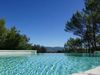Photo for NEW in Sillans-la-Cascade, charming Villa with superb countryside views
