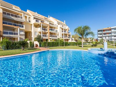 Photo for Apartment Residencial Los Sauces  in Dénia, Costa Blanca - 6 persons, 3 bedrooms