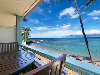 Photo for Oceanfront Napili Studio #202 Sleeps 4! Ask about our free night special!