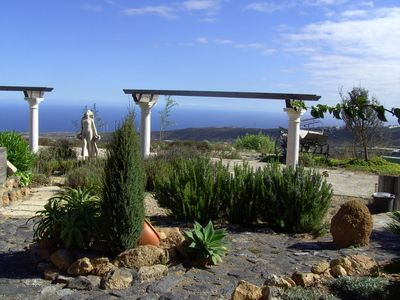 Photo for Apartment in Country home with fantastic sea view