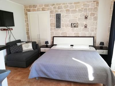 A studio in an old traditional Montenegrin stone house
