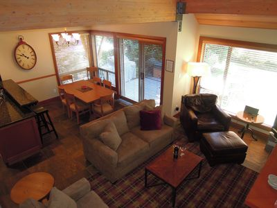 Photo for Home Away From Home. Updated Retreat with Private Hot Tub. Great Location