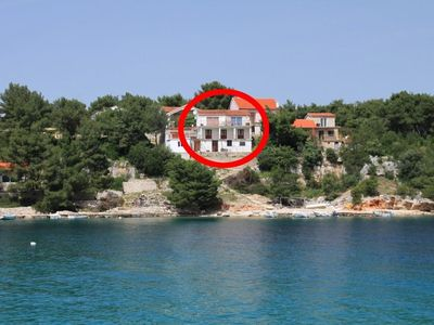 Photo for Apartment in Basina (Hvar), capacity 8+0