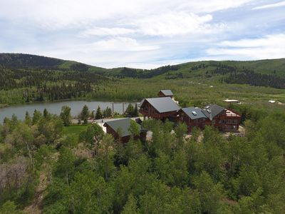 Timber Moose Lodge, the Largest Private Log Cabin in America.