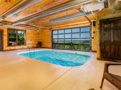 Photo for Private indoor swimming pool-Game Rooms-Walk to Lake-Hot Tub-Chateau-On-The-Cove