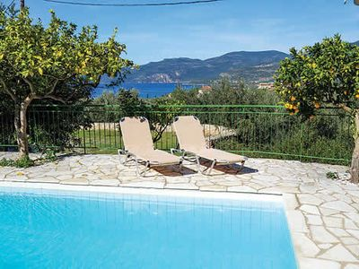 Photo for Charming 1 bedroom villa w/ pool + terrace, close to village of Kardamili