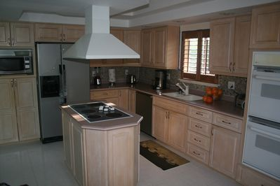 Chef's Kitchen with Stainless Appliances