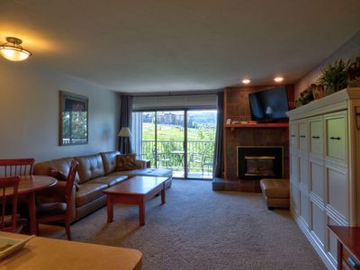 Photo for At the Heart of the Base & Mnt Village Hot Tub Sauna Ski Mountain Views