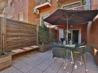 Photo for Sagrada Familia Terrace- 3 bedroom apartment with a private terrace