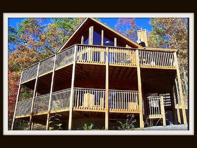 Photo for Beautiful, Private, View, SuperFast WiFi, NFL Sunday, Arcade, Fishing & 2 Pools