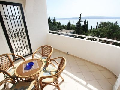 Photo for Holiday apartment with air, sea views and Internet