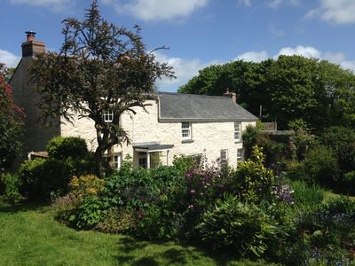Photo for Traditional Cornish Mining Cottage in quiet gardens 3 miles from the coast