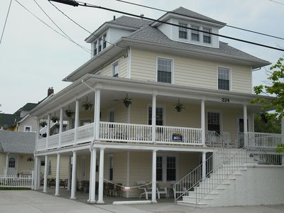 Photo for Booking up for 2018 HURRY! Super clean! 4 br sleeps 9. 2blocks BEACH&BOARDWALK