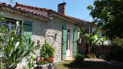 Photo for lovely holiday home in tip of the Médoc 15 km from the ocean
