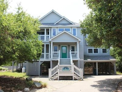 Photo for #PI118: OCEANSIDE Home in Corolla w/PRVTPool & HotTub, DogFriendly