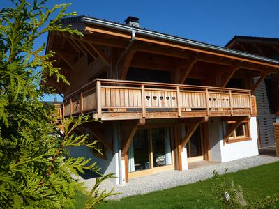 Photo for Apartment in new chalet in Morzine