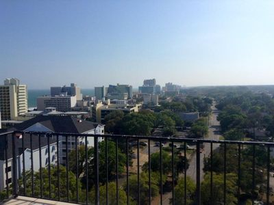 Photo for Holiday Towers 3b/2.5ba Penthouse with huge patio. Beautiful View! 3 bedrooms