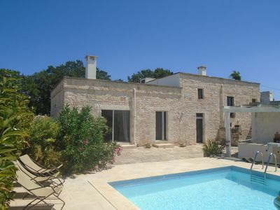 Photo for 4 Bedroom 3 Shower room House in 2 acres with POOL- ideal 2 families