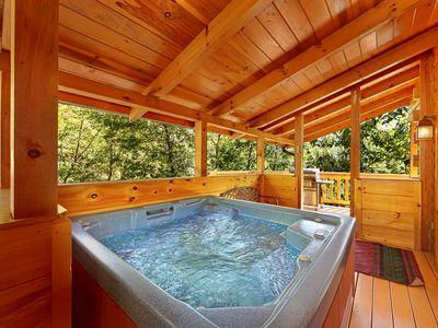 Photo for Secluded Luxury 3 Bedroom Just MInutes from downtown Gatlinburg