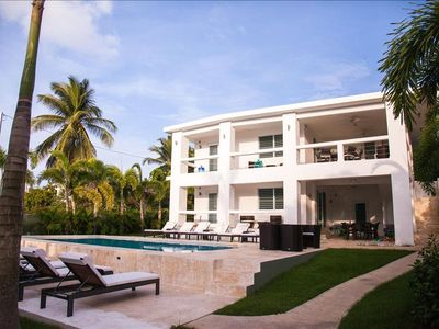 Photo for The Haven - Poolside Level of Private Tropical Sanctuary