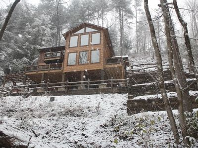 Photo for Unmatched Luxury Right on the Toccoa River