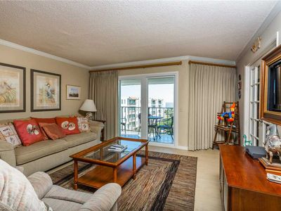 Photo for Steps from the Beach! Oceanfront Condominium with Pool and Beach Access